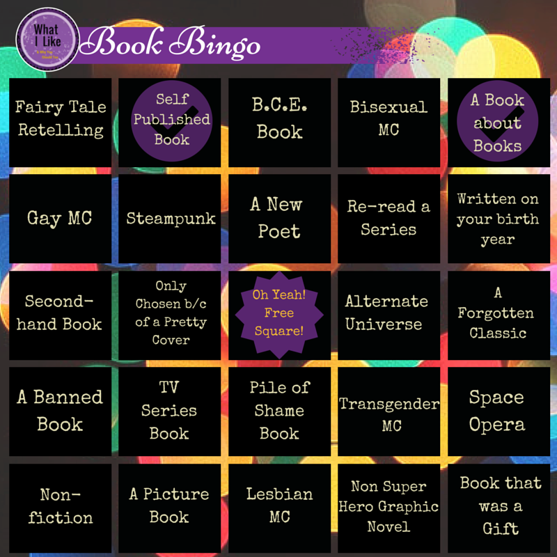 Book Bingo - with stamps
