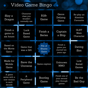 Video Game Bingo
