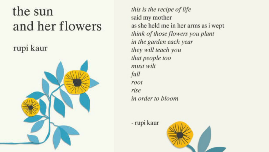 Currently Consuming The Sun And Her Flowers By Rupi Kaur