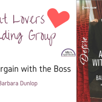 Smut Lovers Reading Group: A Bargain with the Boss by Barbara Dunlop