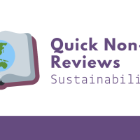 Quick Non-Fic Reviews - Sustainability