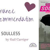 Romance Recommendation: Soulless by Gail Carriger